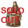 JESUS AND CHILDREN SOLAR STATUE - RELIGIOUS ITEMS - SOLAR POWER GARDEN DECOR