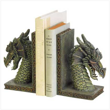 Bookends Unusual Bookends Gargoyle Bookends Foo Dog